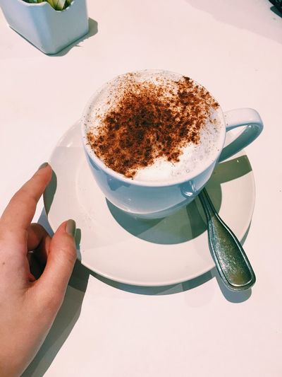 Extra cinnamon? Okay. Cappuccino Check This Out Drinks Enjoying Life