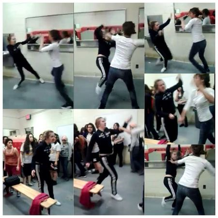 Best fight I've seen. I love these screenshots of the video. ^.^