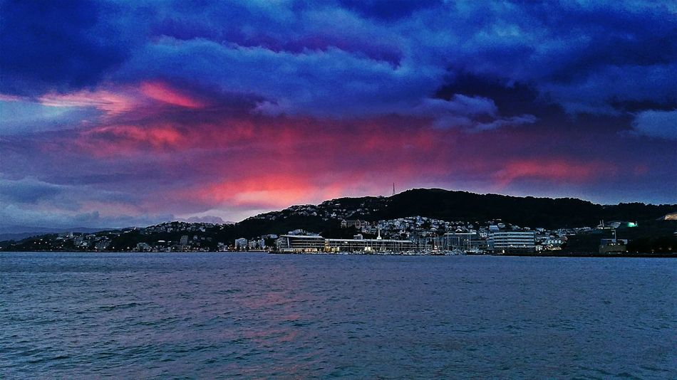 Check This Out Eyeem Sunset-sunrise Wellington Harbour Harbour View EyeEm Best Shots - Sunsets + Sunrise Sunrise_Collection Sunrise