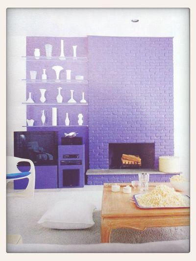 Interior Design White&purple Classy Simplebuteffective
