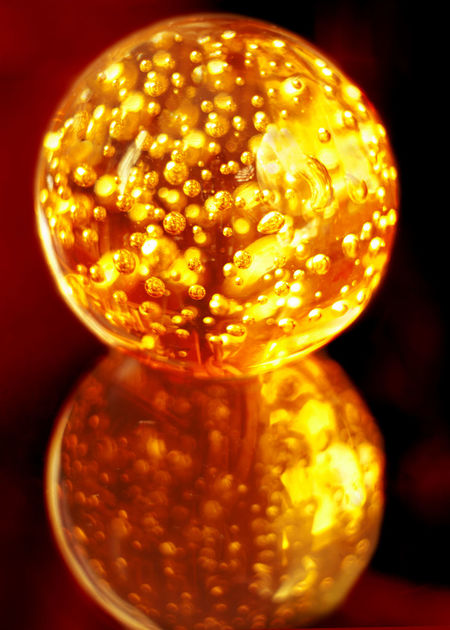 Close-up Day Indoors  Magic No People Sphere Glass Yellow