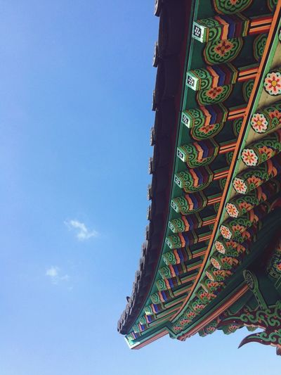Tradition Built Structure Low Angle View Sky Architecture