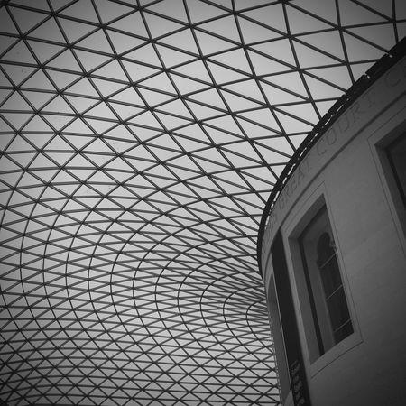 British Museum Great Court Fosterandpartners Architecture Design London IPhone IPhoneography EyeEmNewHere Geometric