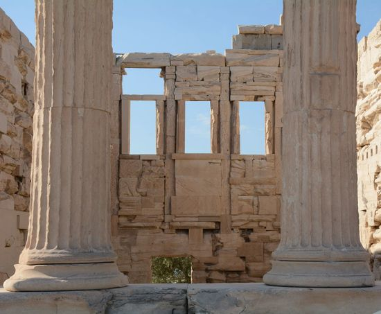 Abandoned Acropolis Acropolis, Athens Ancient Ancient Civilization Ancient History Archaeology Architectural Column Architecture Built Structure Damaged Day History No People Old Ruin Outdoors Ruined Sky The Past Weathered Miles Away The Architect - 2017 EyeEm Awards Neighborhood Map Colour Your Horizn