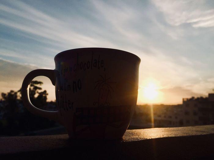 Sunset Text