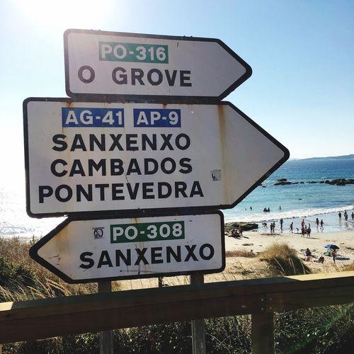 Next destination: Summer Playa Hanging Out Playadelalanzada Galiciacalidade Beach Sandbeach