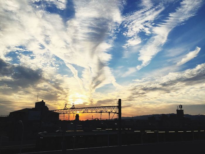 Sky Sunset Sky Beauty In Nature Day Beautiful Japan