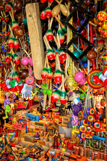 El Mercado Mercado Tourist Attraction  Toys Colorful Handmade Noisemakers Toy Photography Wooden Toys Paint The Town Yellow The Week On EyeEm