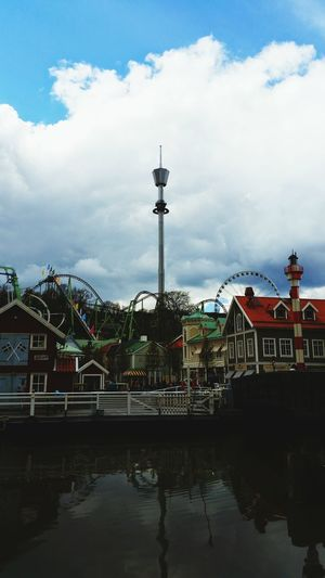 I was high up in Liseberg this weekend! AtmosFEAR Göteborg, Sweden