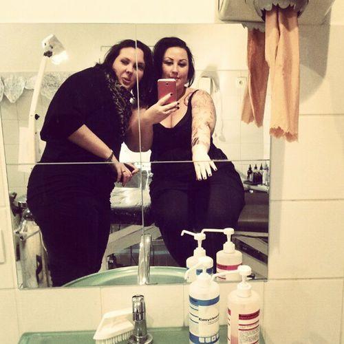 Hihi Bestfriends Sistas Tattooshop Abraxas tattoo armtattoo