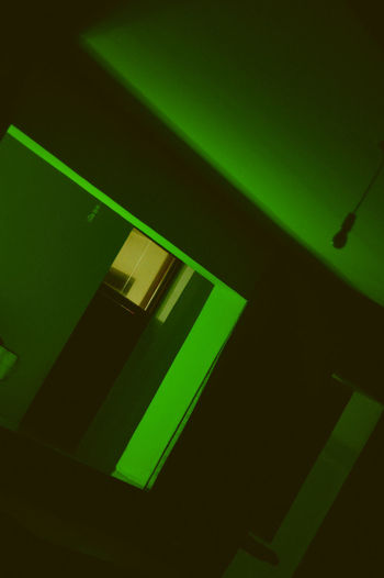 HUAWEI Photo Award: After Dark Ceiling Close-up Dark Electric Light Fluorescent Light Glowing Green Color High Angle View Illuminated Indoors  Light Light - Natural Phenomenon Lighting Equipment Nature Neon No People Pattern Shadow Sunlight