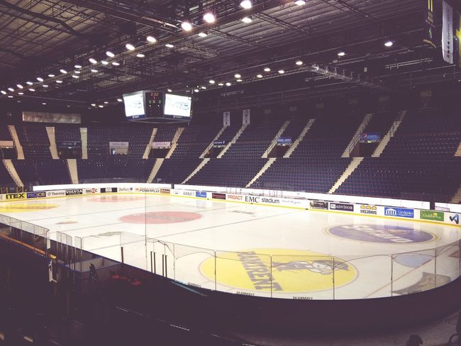 Pretty empty so far.. Ice Hockey AIK Sweden