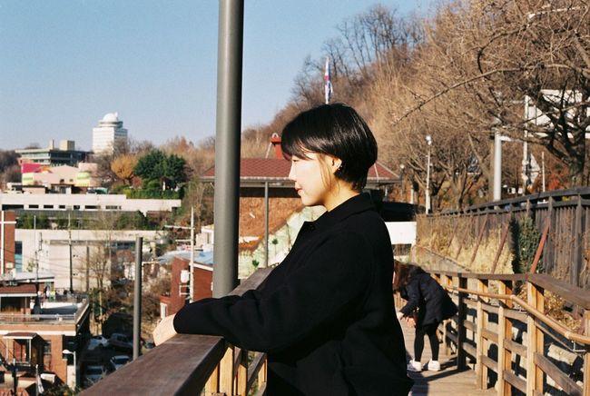 Seoul, Korea Contax G2 35mm Clear Sky