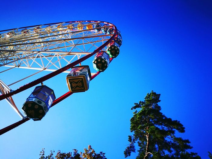 Kharkiv Park Childhood Upandup Fun Goodday Sky Blue Clear Sky Outdoors High Up The Way To The Sky