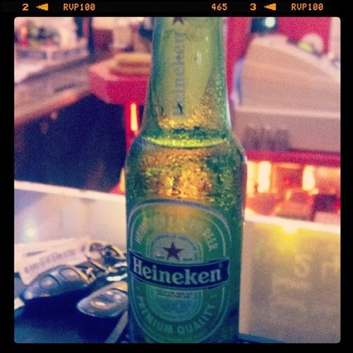 Keeping it simple! Heineken Greenbottle 241 Happyhour