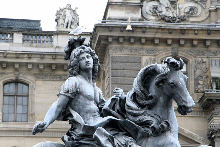 Louis Xiv Of France At Museum