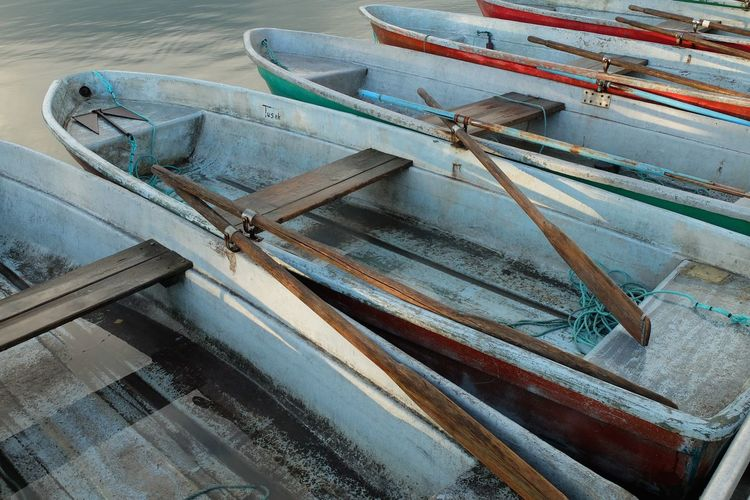 Boat Boats Boats⛵️ Brandenburg Colorful Day Empty Lake Romantic Uckermark Wood - Material
