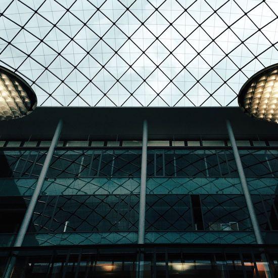 Geometry Symetry Cealing Dach Roof Berliner Ansichten Berlin Library Contrast VSCO Vscocam