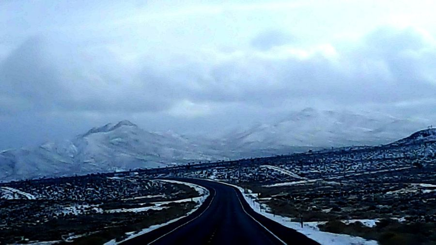 Road Trip Nature_collection Samsung Galaxy S6 Edge Traveling On The Road Open Your Eyes See What I See Clouds And Sky Mountain_collection It's Cold Outside Better Look Twice Showcase: January