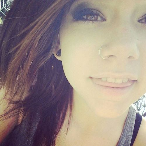Smiling helps make things better. Girlswithgauges Girlswithplugs Cute Plugs taken pierced piercings derp