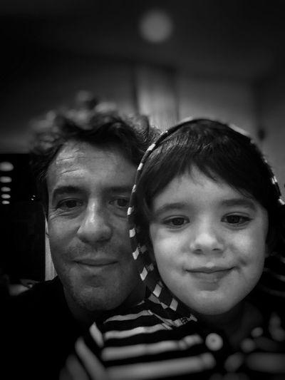Bernardo and I. My son, I'm so proud of you!