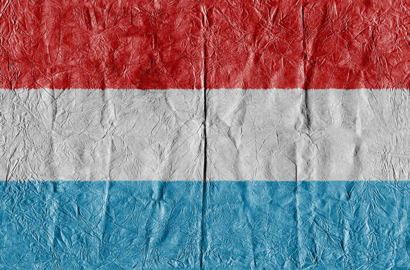 Luxembourg flag on a paper in close-up Background Close-up Concept Country Flag Eu Europe Flag Freedom Growth Isolated Land Luxembourg Luxembourg Flag National Flag National Land Paper Pattern State Symbol Textured  Travel