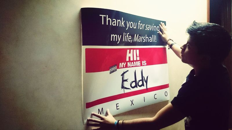 Hi! My name is Eddy and I'm ready for ACL! Eminem Aclfest  Marshall Mathers
