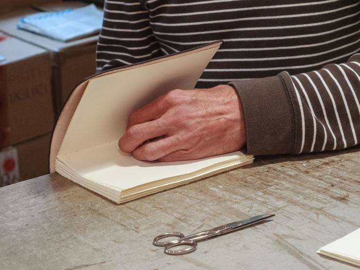 A binder at