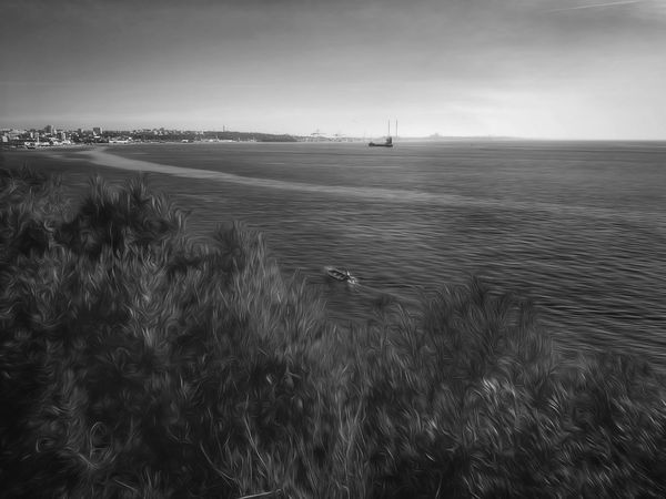 Sea Beach Water City Nature Sand Outdoors Coastline Business Finance And Industry Sky Grass Beauty In Nature Day No People Cultures Capturedonp9 Capture The Moment EyeEm Best Shots Bnw Setúbal Portugal 3XSPUnity My Year My View Eye4photography  EyeEm Gallery