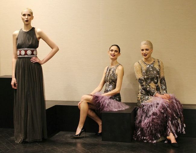 Beautiful models at Amen Presentation. Amazing Cool Enjoying Life Fashionweek Mfw Fashion MFW15