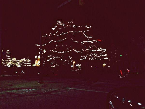 Christmas Lights love that I go to university in a small town!!