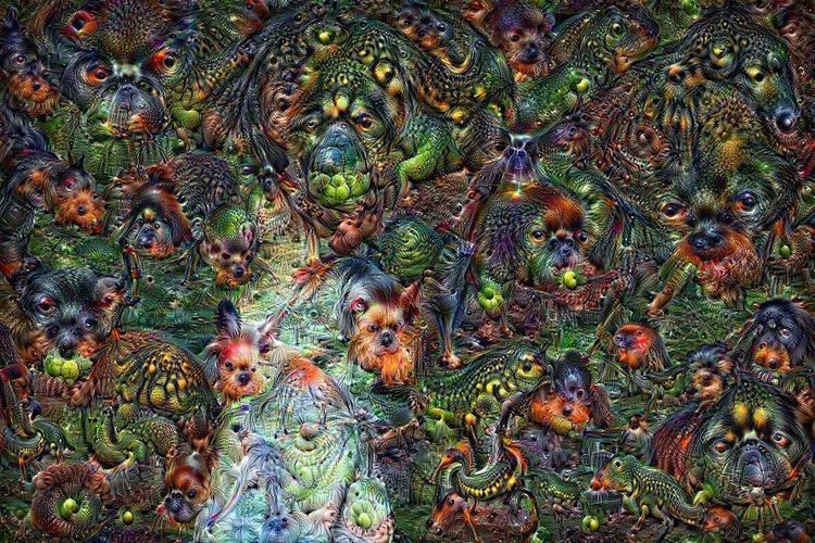 DeepDream is a computer vision program created by Google which uses a convolutional neural network to find and enhance patterns in images via algorithmic pareidolia, thus creating a dreamlike hallucinogenic appearance in the deliberately over-processed images. http://deepdreamgenerator.com Ai Algorithm Artificial Intelligence Changing The World Check This Out Computer Art Deepdream Dreams Effects & Filters Google Neuralnetwork Photography Processed Image Psychedelic Software Surrealism Surrealism Photography Surrealist Art Technology The Future Of Photography