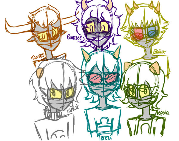 I doodled some homestuck charas.. //omg i love sollux cx Homestuck My Drawings Doodle Drawing