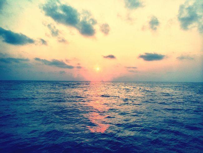 Sunrise in the similans Thailand Scuba Diving Liveaboard Similanislands Sunrise