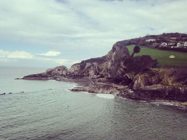 Cliffs Sea Cliffs Beach Ilfracombe, Devon. Devon