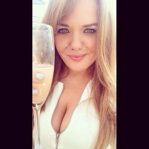Champagne on the Hilton rooftop London Me Selfie Secretceleb