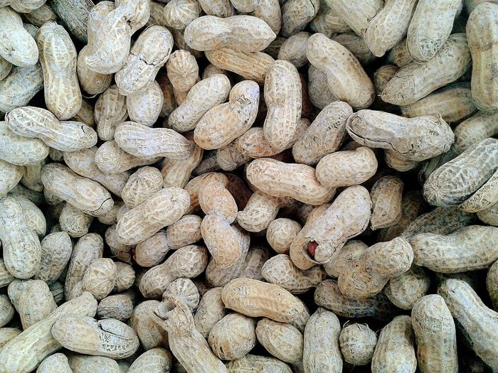 Full frame shot of peanuts