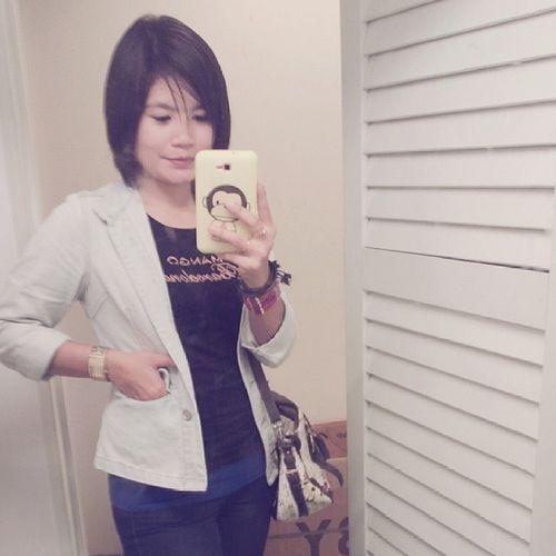 Selfie Jalan2carimakan Mrfiance Waitingforhim ^_^v