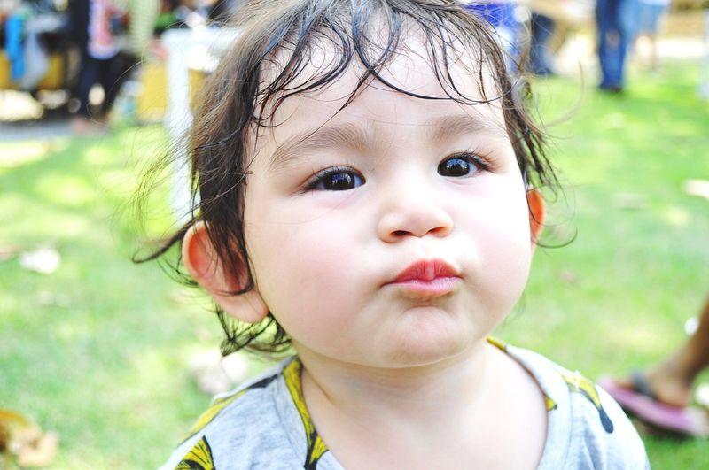Kiss Kids Love Chilling Thailand Enjoying Life Ratchaburi