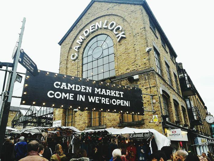 Camben Town Camden Lock,London Camden Market, London London North London London Lifestyle People Flea Market Finds Flea Markets Canalstreet Architecture Large Group Of People Outdoors Open Market Place