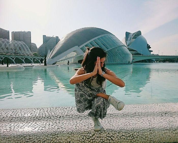 TCPM Travel Santi Travel Photography Teenager Girl View Spiritual TCPM