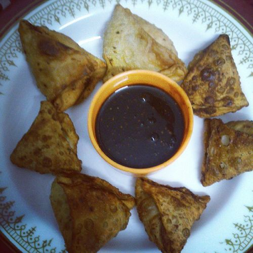 Samosas Cooked by yours truly