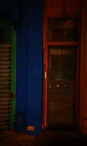 Bay Ridge, Brooklyn Doorway Orange/green/blue