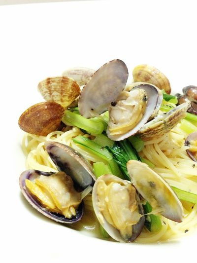 Vongole Bianco Making Pasta Cooking Hasband Made