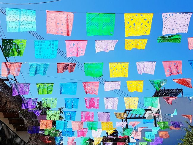 Multi Colored Vibrant Color Variation Hanging No People Sky Architecture Honest Life Real Life. Travel Still Life Photography Nature RealMEXICO Mexican Life  Nophotoshop Mexican Life  Organicphotography Finding New Frontiers Samsunggalaxye7 Adventure Architecture