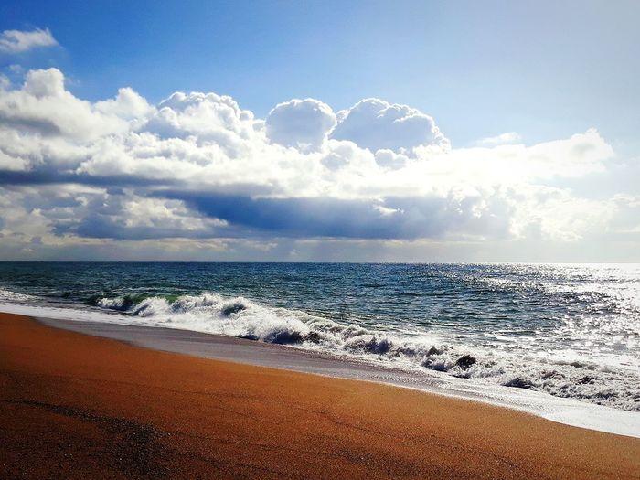 Fino Mar Cielo Y Nubes  EyeEmNewHere