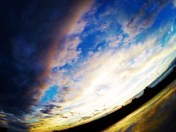 The Calm After The Storm Sky Cloud - Sky No People Nature Scenics Sunset Outdoors Beauty In Nature Day