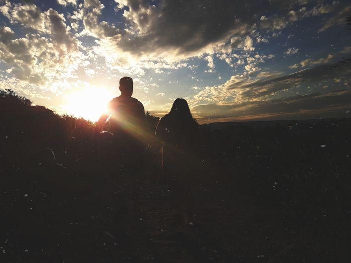 Amor Cielo Love Juntos A La Par Sunset Sky