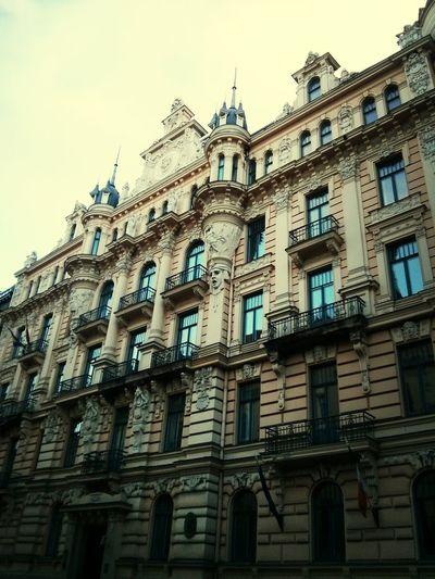 Latvia Riga Riga Eisenstein Arhitecture Modern Architecture