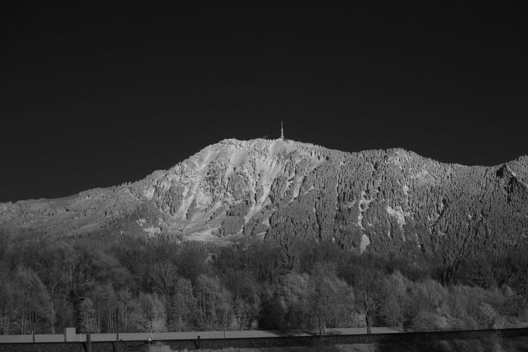 Infrared view on the Grünten mountain Allgäu Grünten Infrared Beauty In Nature Clear Sky Cold Temperature Infrared Photo Infrared Photography Infrarot Landscape Mountain Mountain Range Nature Night No People Outdoors Scenics Sky Snow Tranquil Scene Tranquility Winter